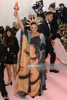 """NEW YORK, NY - MAY 06: Diane von Furstenberg attends the 2019 Met Gala celebrating """"Camp: Notes on Fashion"""" at The Metropolitan Museum of Art on May 6, 2019 in New York City. (Photo by Taylor Hill/FilmMagic)"""