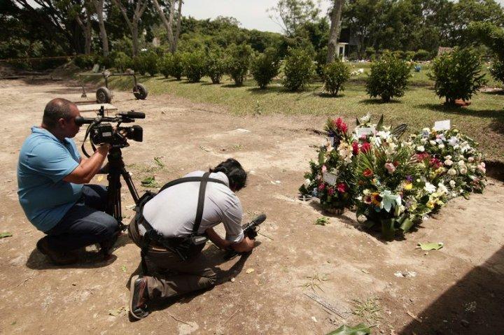El Salvador US Border Migrant Deaths