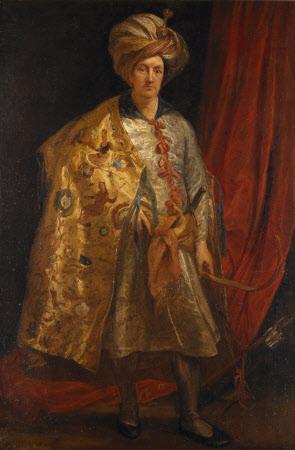 Sir Robert Shirley (1581-1628)by Sir Anthony Van Dyck (Antwerp 1599 - London 1641)